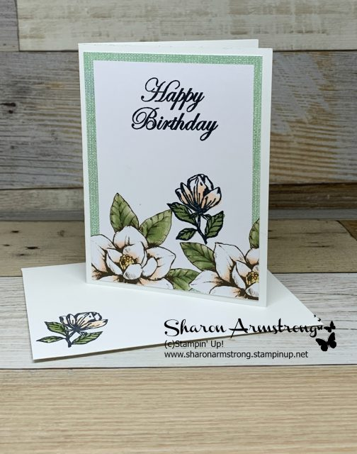 Card-Kit-Sample-Handmade-Birthday-Card-with-Magnolias-in-Soft-Colors