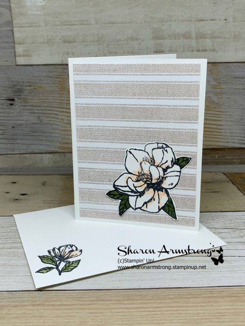 Card-Kit-Sample-Note-Card-Magnolia-on-Soft-Pink-Striped-Background