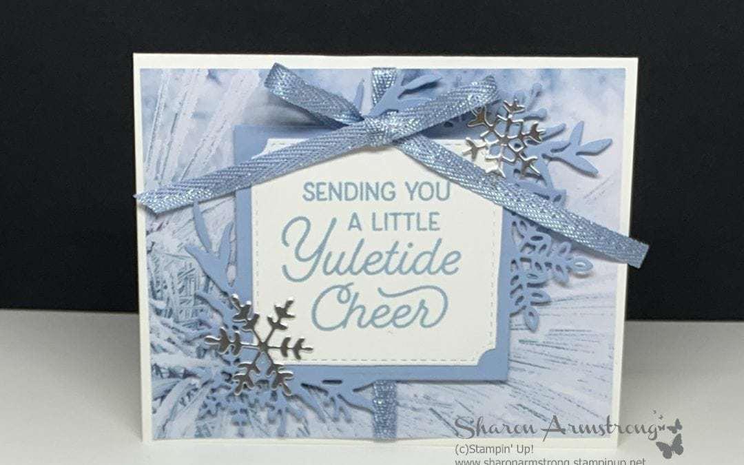 How to Make a Simple Christmas Card + Bonus Project