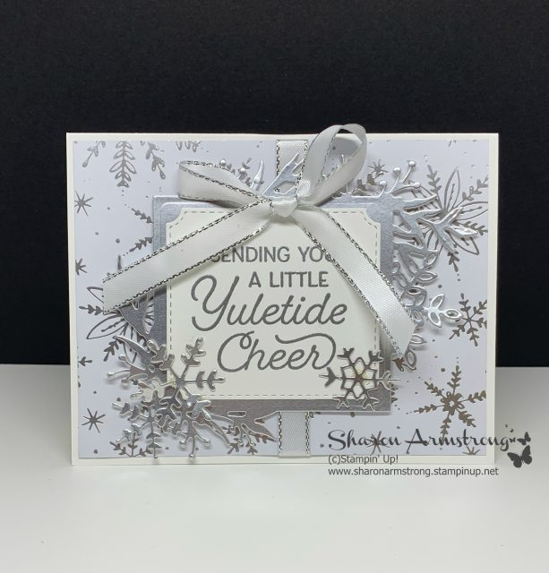Simple-Christmas-Card-Handmade-by-Sharon-Armstrong-TxStampin