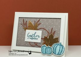How to Make A Fall Card They'll Want to Display on the Mantel