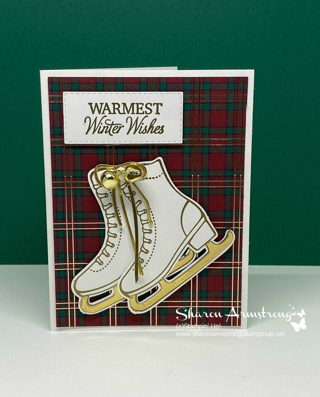 How to make Free Skate Christmas Cards