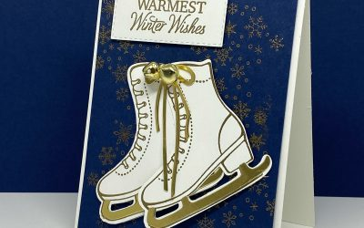 How to make Free Skate Christmas Cards