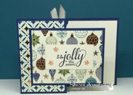 A Fabulous Christmas Gift Card Holder to Make for Anyone