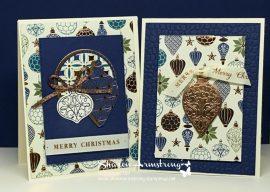 A Shiny Beautiful Christmas Card You Can Make Easily