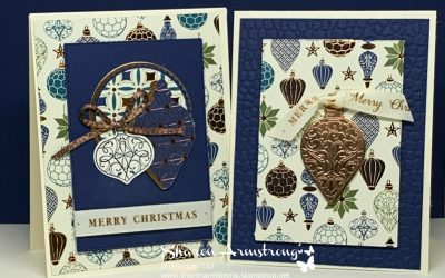 A Shiny Beautiful Christmas Card You Can Make Easily