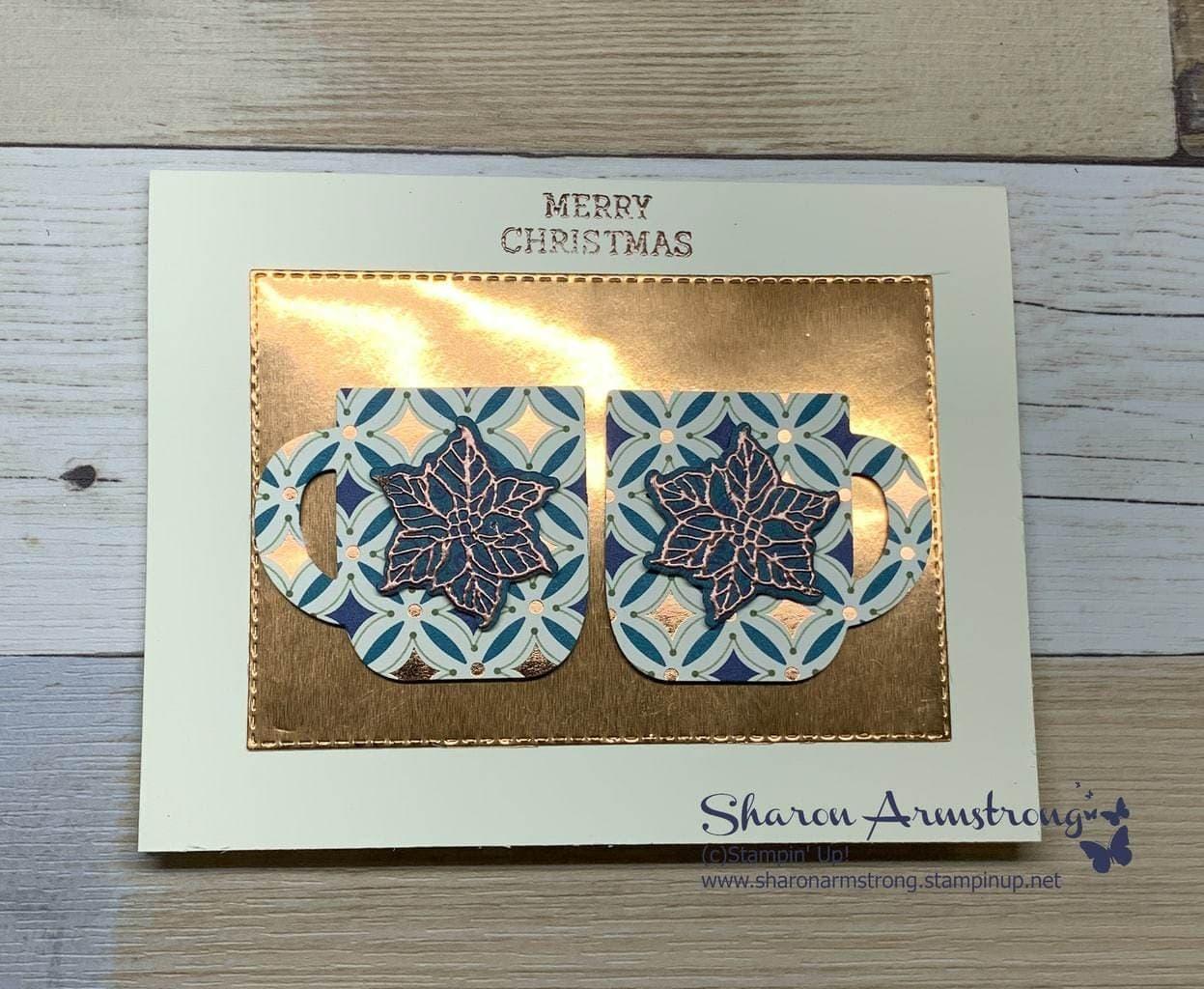 2 Christmas Cards You Can Make + Matching Gift Bag