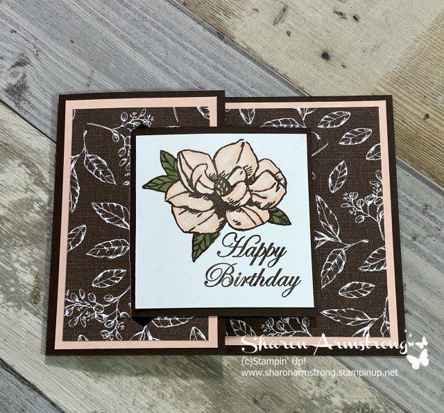 Christmas-Buckle-Fold-Card-Handmade
