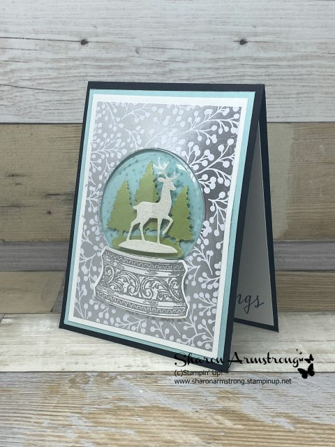 Christmas-Snow-Globe-Card-Handmade-with-Reindeer