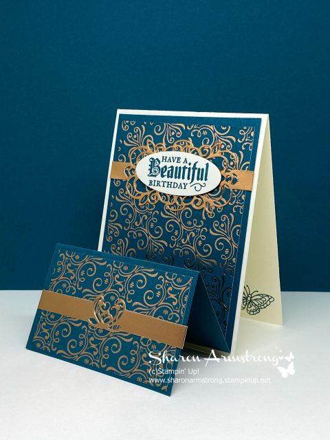 Gleaming-Birthday-Card-Fun-Fold-Butterfly