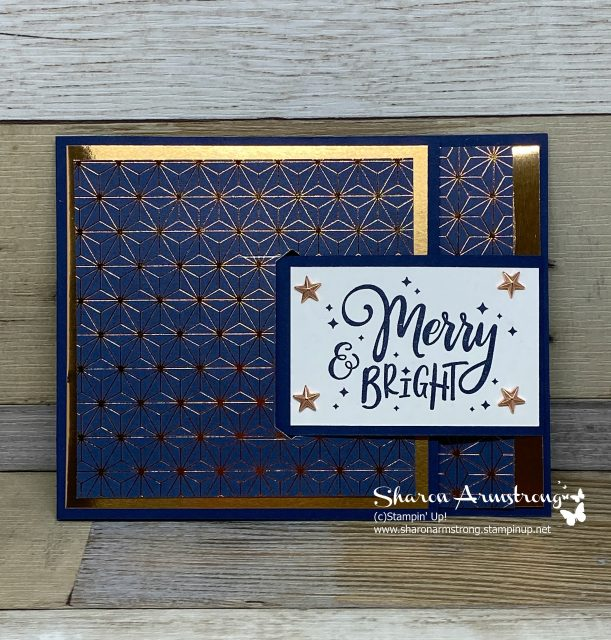 Christmas-Buckle-Fold-Card-Handmade