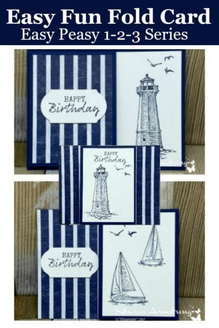 Quick-Fun-Fold-Card-Birthday-Card-with-Lighthouse-and-Sailboat
