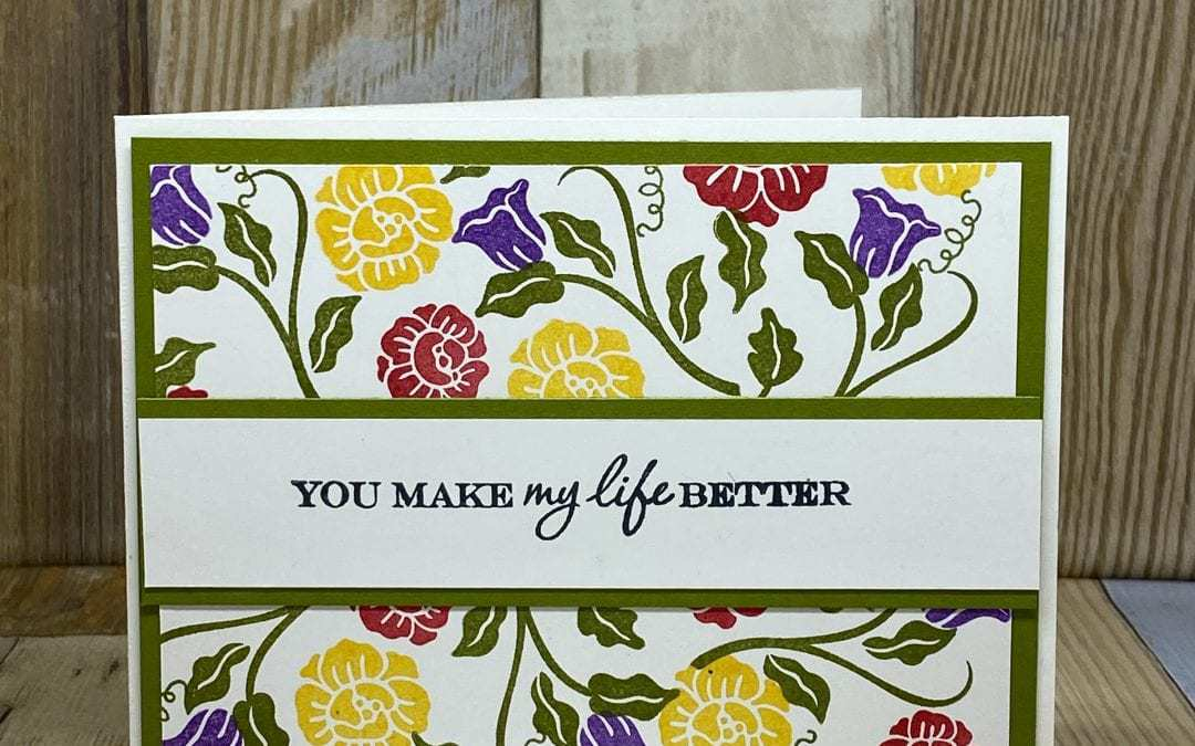 4 Greeting Card Ideas with Heart to Heart Stamp Set | Easy Peasy 1-2-3 Series