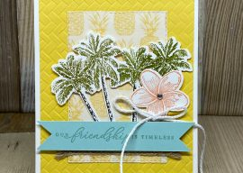 A Tropical Oasis Greeting Card to Warm the Heart of Friends