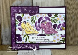 A Fashionable Fun Fold Card Proven to Win Smiles {Dressed to Impress}