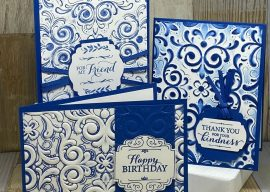 3 Clever Embossing Folder Techniques for Greeting Cards