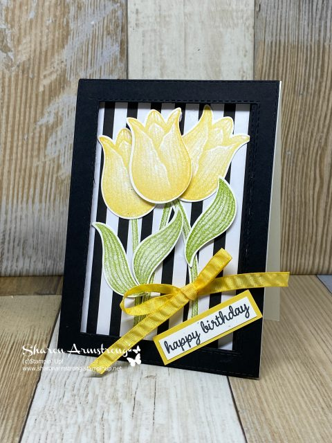Greeting-Card-Ideas-Birthday-Card-with-Yellow-Tulips