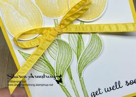 3 Tulip Greeting Card Ideas with Timeless Tulips