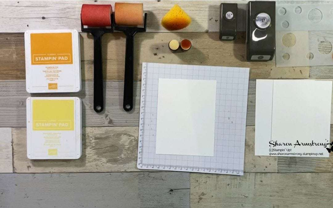 3 Easy Card Making Backgrounds You Can Make   Easy Peasy 1-2-3