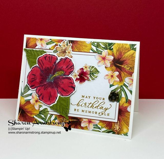 Make-Easy-Cards-with-Memories-&-More-Tropical-Birthday-Card