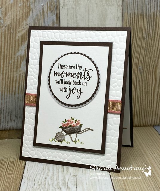 Handmade-Greeting-Card-with-Embossed-Background-and-Stamped-Image