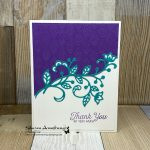 DIY-Thank-You-Card-with-Purple-Textured-Background-and-Teal-Flourish