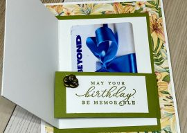 A Birthday Gift Card Holder You Can Make in Minutes