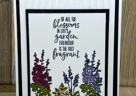 How to Color Stamped Images for a Beautiful Greeting Card