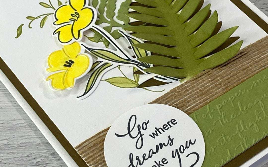 How to Make a Layered Greeting Card That Screams Spring