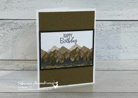 How to Make Dreamy Mountain Greeting Cards That Lift Your Soul