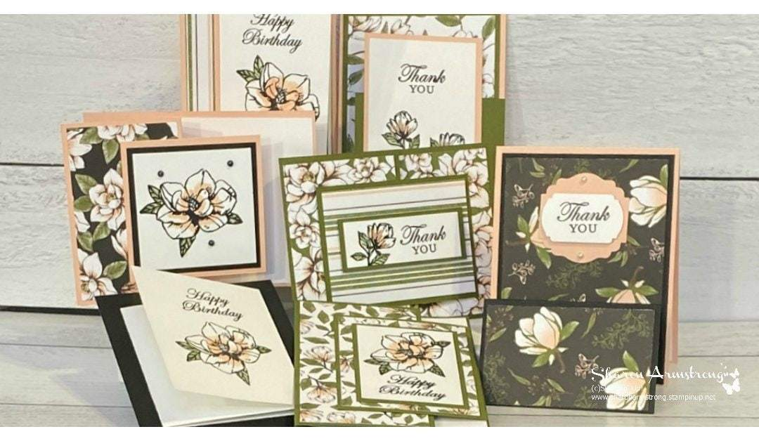 Free Magnolia Fun Fold Card Video + A Class Offer You Can't Resist