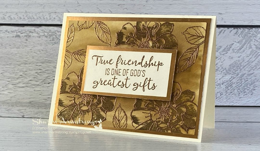 A Greeting Card Embossing Technique That Will Blow Your Mind