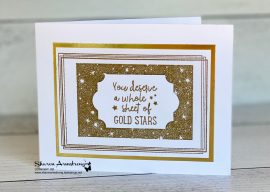 A Creative Card Making Idea That Will Inspire You | Star Studded Card