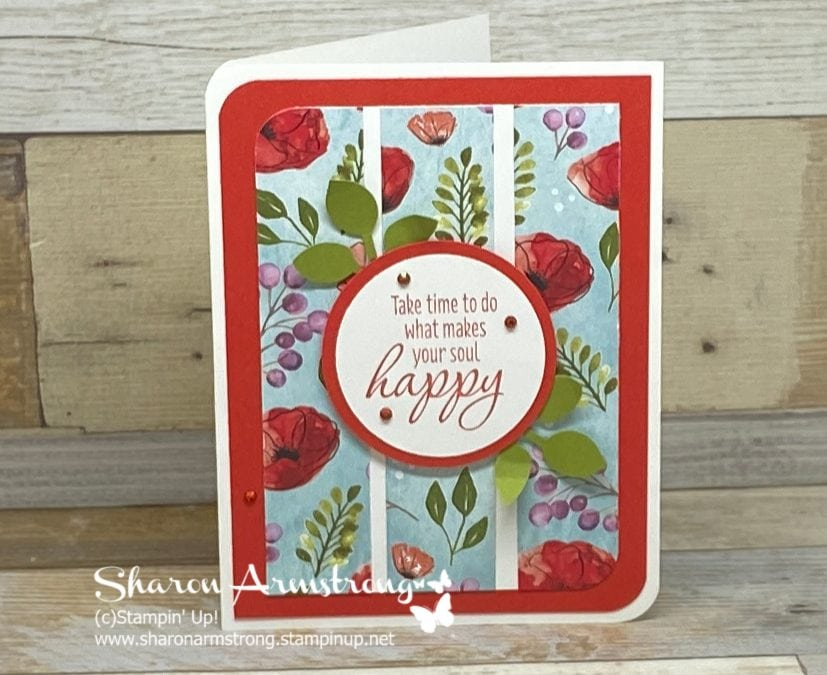 How to Make a Card With Paper Scraps