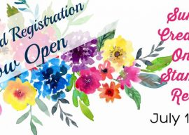 Early Bird Registration Creativate Summer Online Retreat