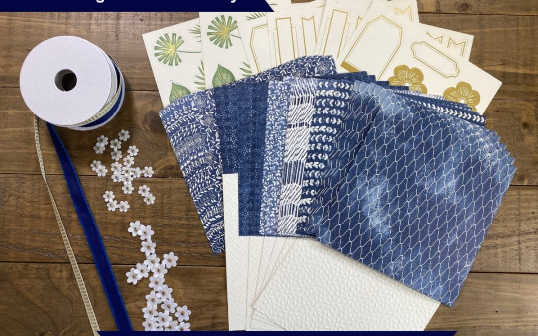 Boho Indigo Card Making Class | Free with Minimum Purchase